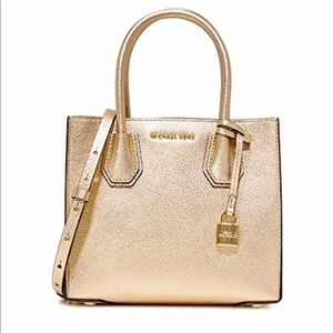 Gold Michael Kors Tote Purse NWT